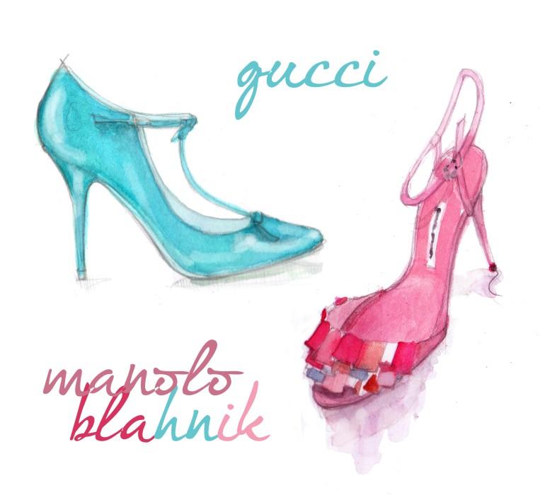 Gucci e Manolo,fall 2013