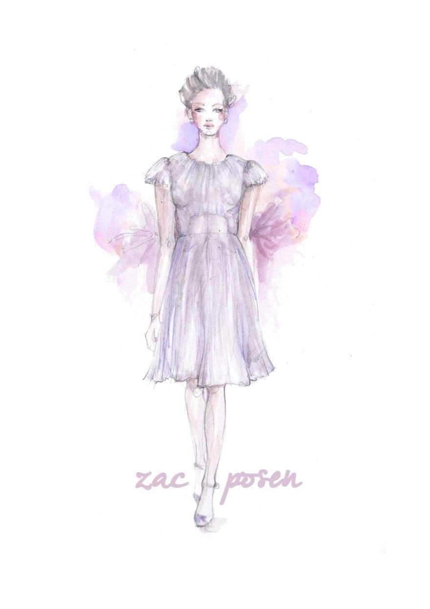 Zac Posen lavender