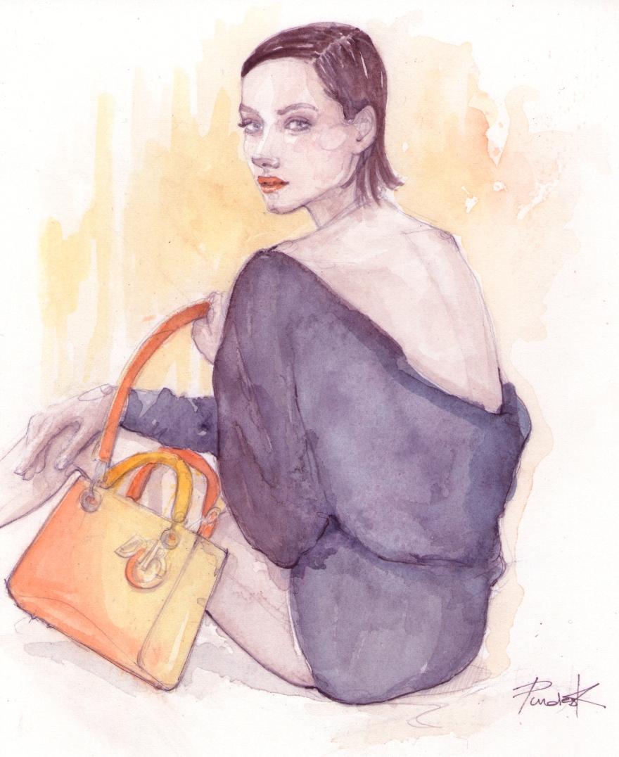 Marion Cotillard in Dior fall13 ads
